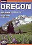 Oregon Topo Travel Reference Map by Imus (American Landscapes)