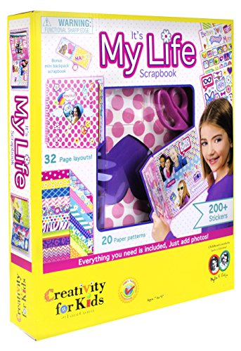 Image of Creativity for Kids It's My Life Scrapbook Kit