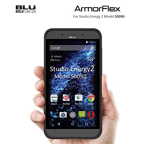 BLU Skin for Studio Energy 2 - Retail Packaging - Black/Black (Studio Energy Blu)