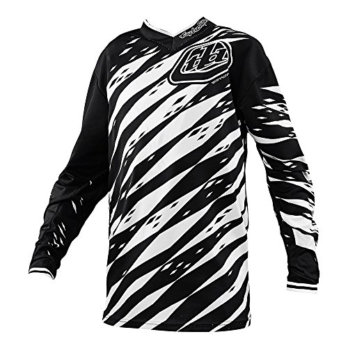 Troy Lee Designs GP Vert Boys Motocross/Dirt Bike Motorcycle Jersey - White/Black