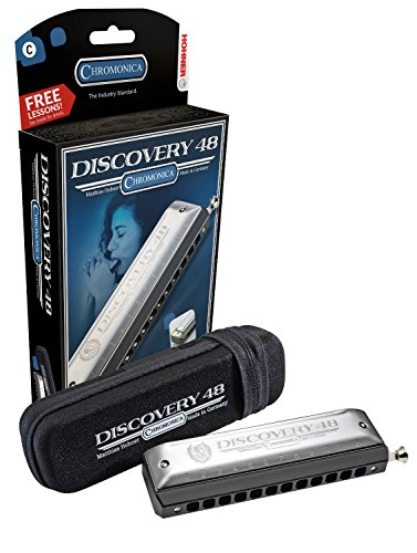 Hohner 7542BX-C Discovery 48 Chromatic Harmonica