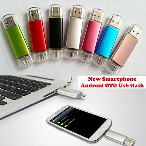 OTG Micro USB 2.0 2in1 Flash Drive Memory Stick Pen for PC Android Phone lot