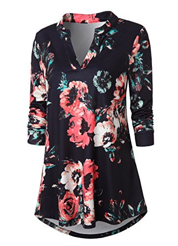 Floral Tunic Top - 9