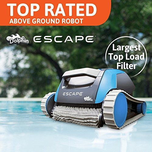 Dolphin Escape Robotic Above Ground Pool Cleaner (Above Ground Automatic Swimming Pool)