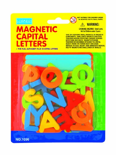 megcos magnetic capital letters in a blister card 36 With magnetic capital letters