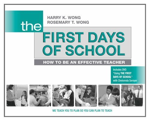 Wong, Harry K.; Wong, Rosemary T.'s The First Days of School: How to Be an Effective Teacher Paperback