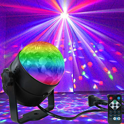 bd826b2d4bfcd Disco Light Disco Ball Party Strobe Light, Sound Activated Party Lights  with Remote Control for Dance Parties, Halloween, ...