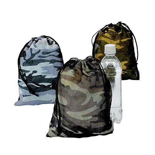 Amazon.com: Camouflage Drawstring Bags - 1 Dozen: Toys & Games