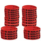 Blue Orchards Ninja Master Kids' Wristbands (24), Boys' Party Accessories, Ninjago-Inspired Party Supplies
