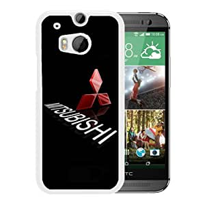 Individual Design Phone Case mitsubishi White Popular Sale HTC ONE M8 Phone Case