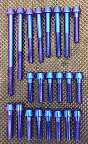 カワサキ マッハ750/H2用64チタンボルトセット   B07KFCK237