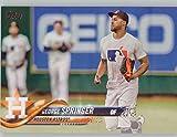"""2018 Topps Baseball George Springer """"Photo Variation"""" Short Print Card! #275 Mint! Houston Astros!"""
