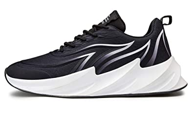 Mens Blade Flyknit Sports Shoes Sneakers Athletic Jogging  Running Springblade