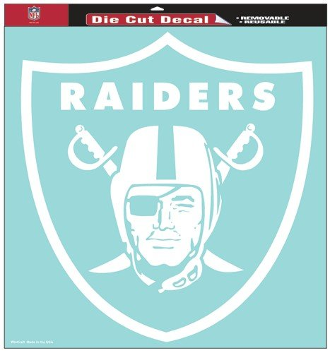WinCraft NFL Oakland Raiders Die-Cut Decal, 8