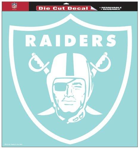 (WinCraft NFL Oakland Raiders Die-Cut Decal, 8