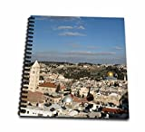 3dRose db_132686_2 Israel, Jerusalem, Dome Of The Rock As14 Dny0028 David Noyes Memory Book, 12'' x 12''