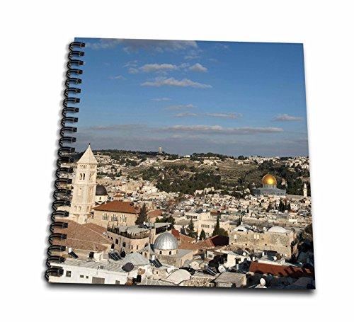 3dRose db_132686_2 Israel, Jerusalem, Dome Of The Rock As14 Dny0028 David Noyes Memory Book, 12'' x 12'' by 3dRose
