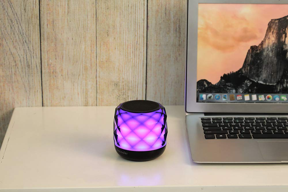 docooler Altoparlante Stereo Senza Fili Lettore Musicale Portatile per iPhone 6S Plus Smart Phone Tablet Notebook Laptop Desktop
