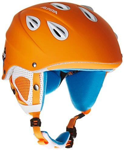 Alpina Skihelm Grap, orange matt, 57-61, 9036341