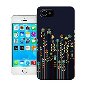 Unique Phone Case Flowers Art Overgrown flowers Stretched Canvas Hard Cover for iPhone 4/4s cases-buythecase