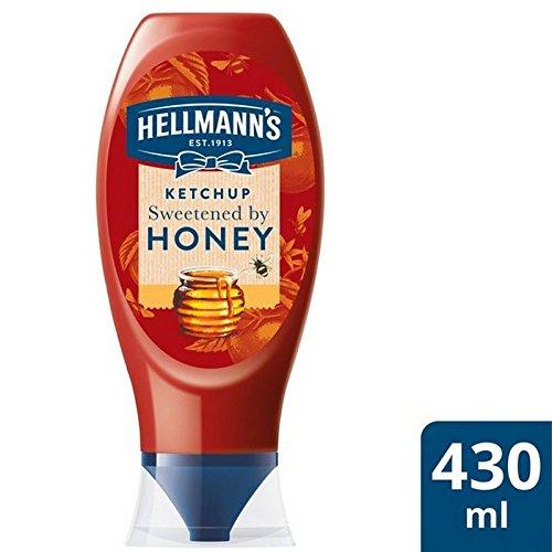 La Salsa De Tomate De Hellmann Endulzado Con Miel 430Ml (Paquete de 2)