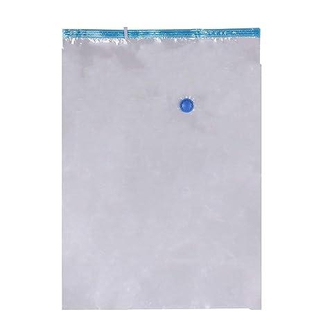PGIGE Plástico Transparente + Azul Paquete de Viaje Bolsa de ...
