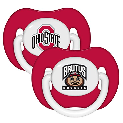 State Buckeyes Brutus Infant Pacifier