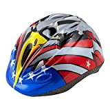HiCool Kids Cycling Helmet Riding Helmet Multi-Use Kids Helmet for Cycling and Outdoor Sports (Black/Red standard)