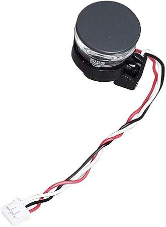 Noir Pare-Chocs Ir Station Capteur pour Irobot Roomba 500 600 700 Série 800