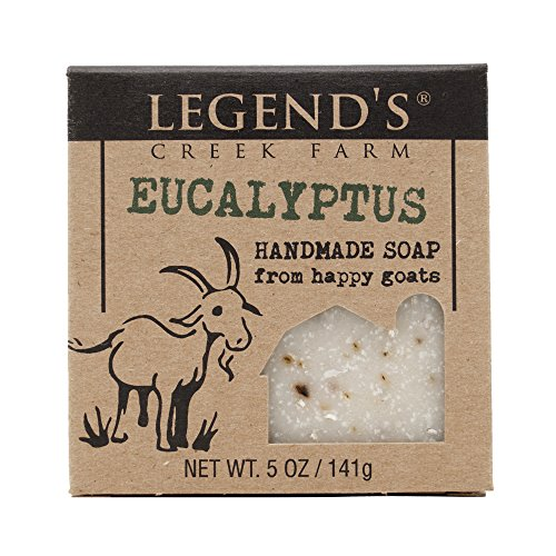 Eucalyptus Goat Milk Soap - 5 Oz Handmade Bar - Great For Sensitive Skin