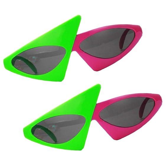 B Baosity 2x Gafas de Sol Novedad Party Divertidas Disfraces ...