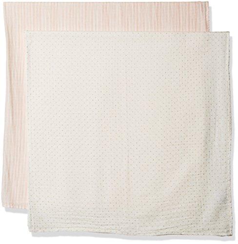 Mud Pie Newborn Blankets - Mud Pie Baby Girls' Swaddle Set, Glitter, One Size