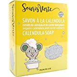 Souris Verte Natural Organic Baby Soap Bar, 130g