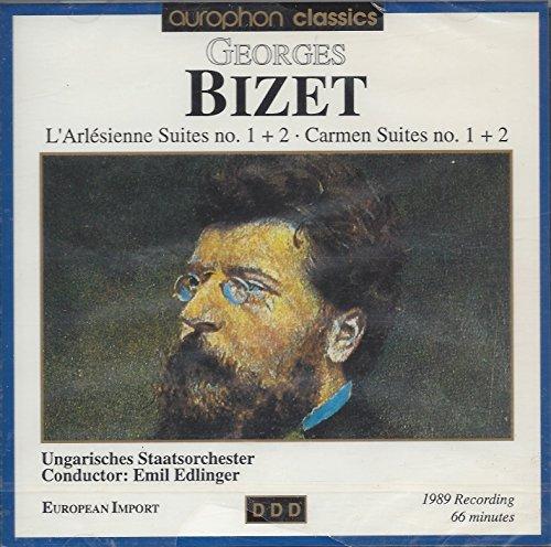 - Georges Bizet: Symphony in C Major: L'Arlesienne [Suites Nos. 1 & 2]