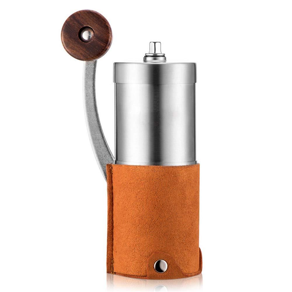Acquisto YSCCSY Caffettiera In Acciaio Inox Manuale Macinatore Di Caffè In Ceramica Sport Retrò Polvere Temperato Caffettiera Prezzi offerta