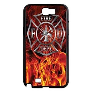 Samsung Galaxy Note 2 N7100 Phone Cases Black Firefighter Emblem CXS060239