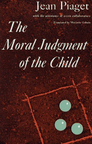 The Moral Judgement of the Child by Piaget, Jean published by Free Press Paperback