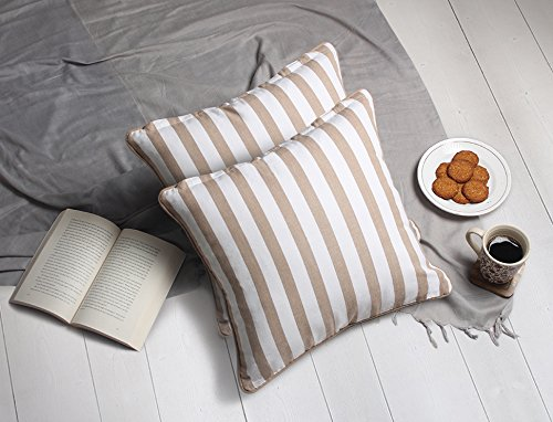 Stylish Cushion Covers for Sofa 16 x 16 Set of 2 Throw Pillo