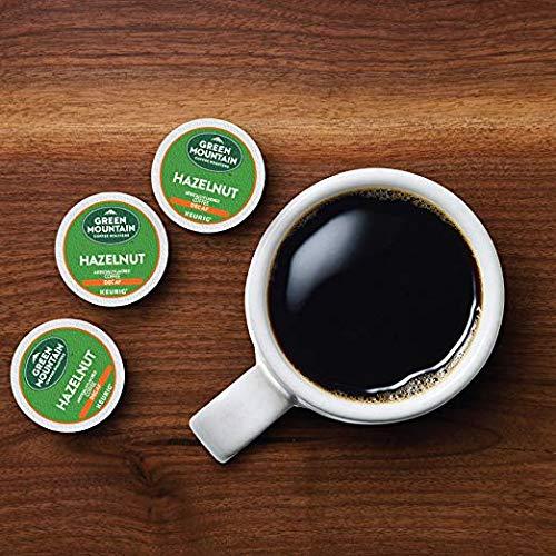 Green Mountain Coffee Roasters Hazelnut Decaf Keurig Single-Serve K-Cup Pods, Light Roast Coffee, 72 Count (6 Boxes of 12 Pods) by Green Mountain Coffee Roasters (Image #4)