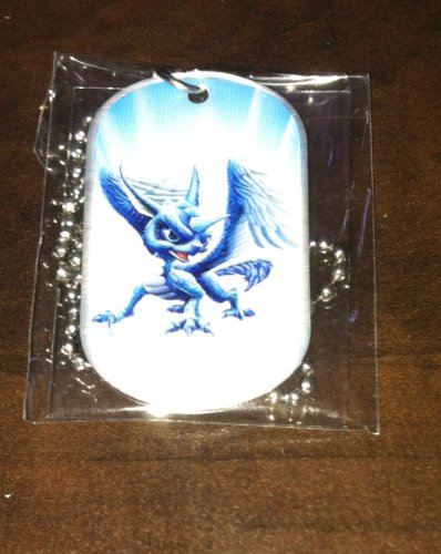 SKYLANDERS GIANTS DOG TAGS WHIRLWIND