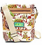 Lily Bloom Tablet Smartphone Crossbody Bag Forest Owl