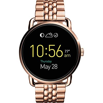 Fossil Q Wander Stainless Steel Touchscreen Smartwatch