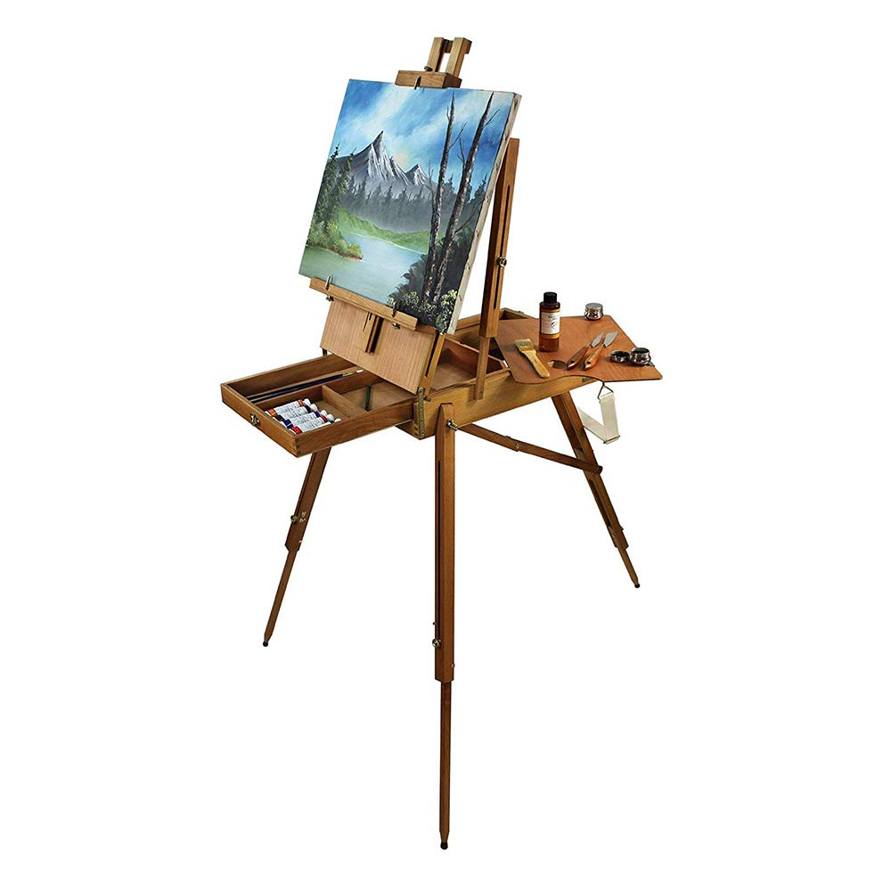 Artist Quality French Easel, Hardwood, Hand Varnished by French Easels