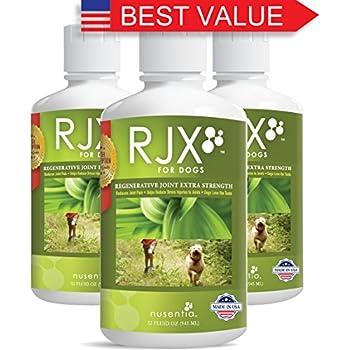Amazon.com : Dog Joint Supplements (96 fl oz) - Liquid RJX
