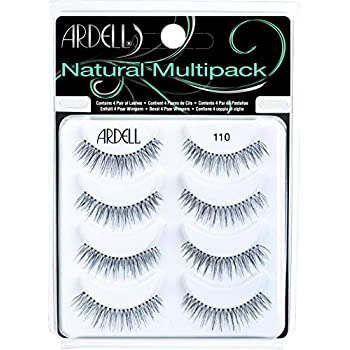 Amazon.com : Ardell Natural Multipack Lashes - #110 Black ...