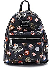 Harry Potter Characters All Over Print Womens Double Strap Shoulder Bag Purse