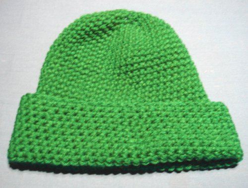 Ski Cap Crochet Pattern Beanie / Skull Cap Adult Medium Size