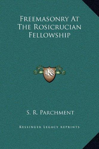 Freemasonry At The Rosicrucian Fellowship PDF