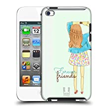 Head Case Designs Infinity Dress My BFF Cases Hard Back Case for Touch 5th Gen / Touch 6th Gen