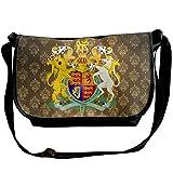 Lov6eoorheeb Unisex Coat Of Arms Of United Kingdom Wide Diagonal Shoulder Bag Adjustable Shoulder Tote Bag Single Shoulder Backpack For Work,School,Daily